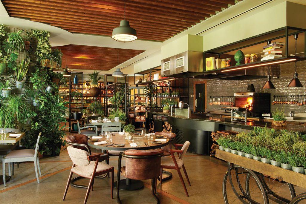 Restaurante Erva. Corinthia Hotel Lisbon