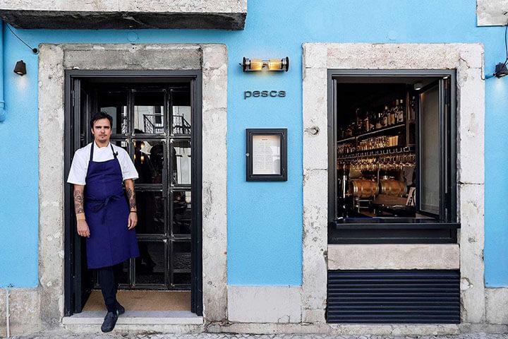Diogo Noronha. Restaurant Pesca. Lisbon