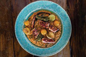 Octopus prime. Restaurant Jangada. Lisbon