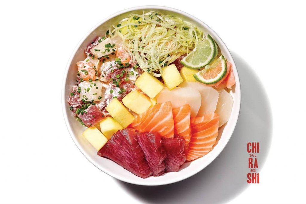 Otaku, restaurant Chirashi Sushi. Lisbon