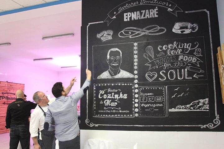 Restaurante de EPNazaré Escola Proffisional. António Alexandre