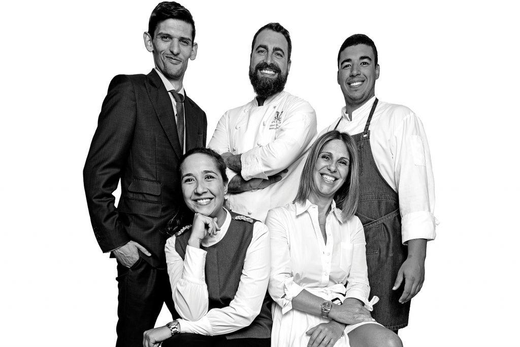 Equipe do restaurante Suba, Lisboa