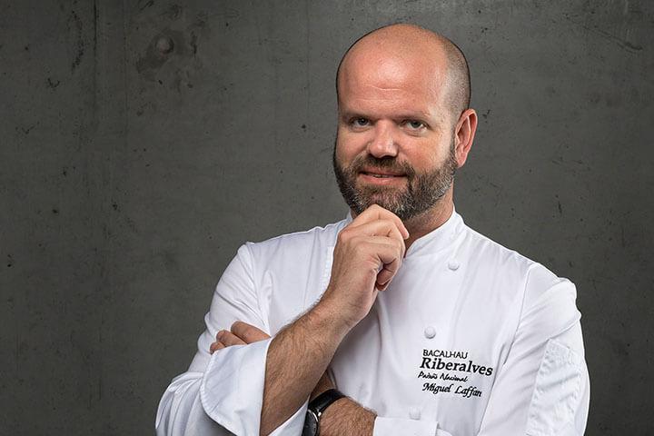Chef Miguel Laffan