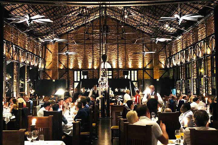 Comedor restaurante Kais. Lisboa