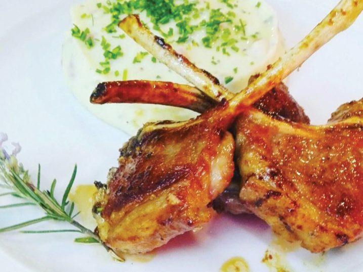 Lamb chops. Cisco - Cozinha Tradicional. Lisbon