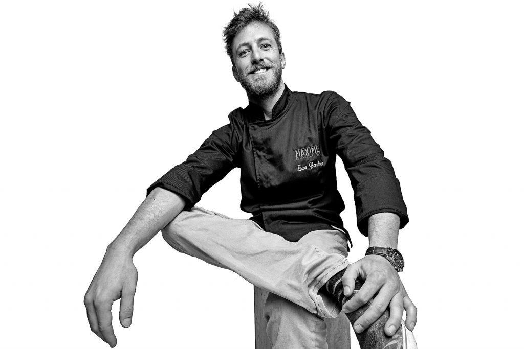 Luca Bordino chef de Maxime Restaurante-Bar