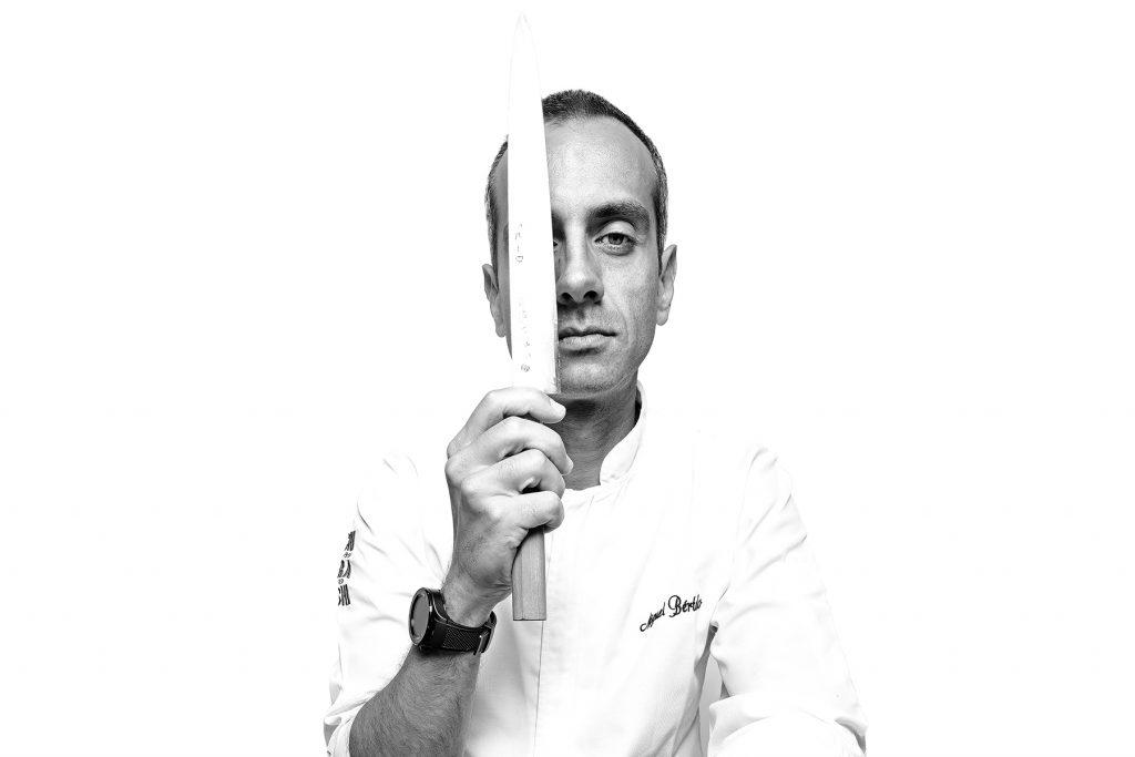 Miguel Bértolo, chef de Chirashi Sushi. Lisboa