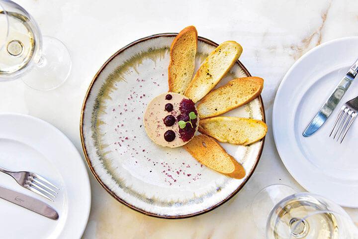Foie gras, Restaurante Olivier Avenida. Lisboa