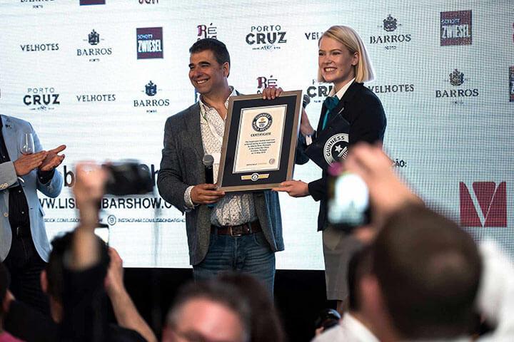 """Récord Guinness de """"la cata de vino de Oporto más grande del mundo"""""""