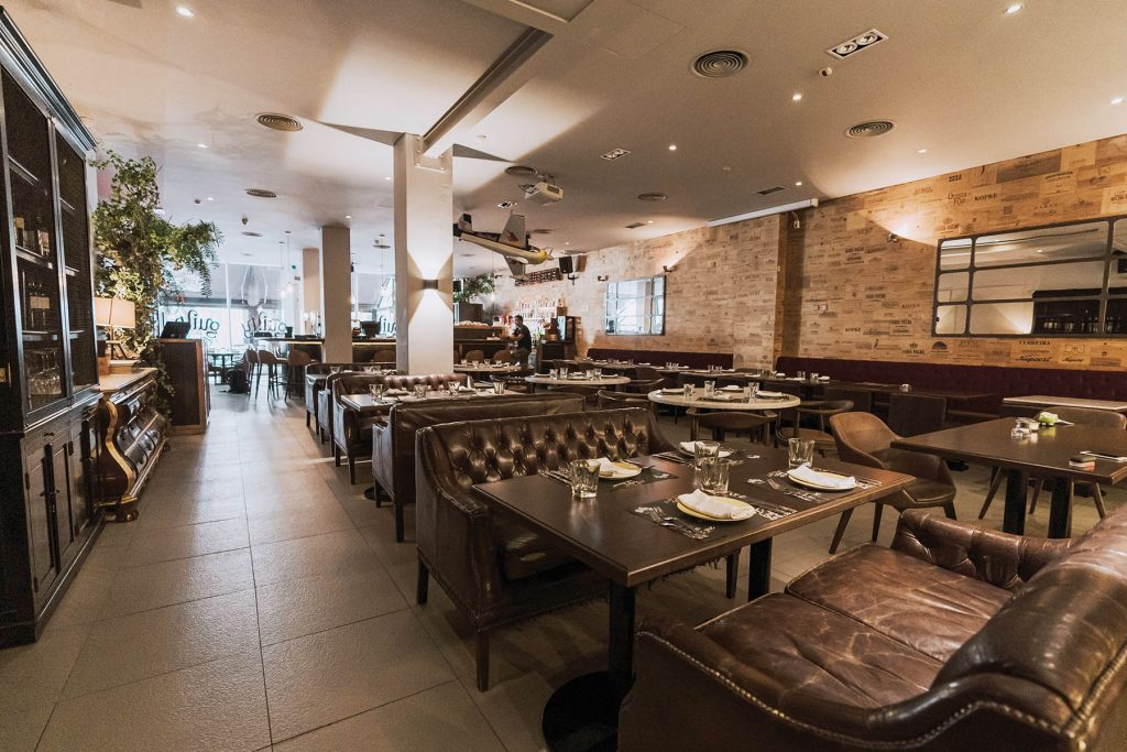 Restaurant Guilty by Olivier. Lisbon