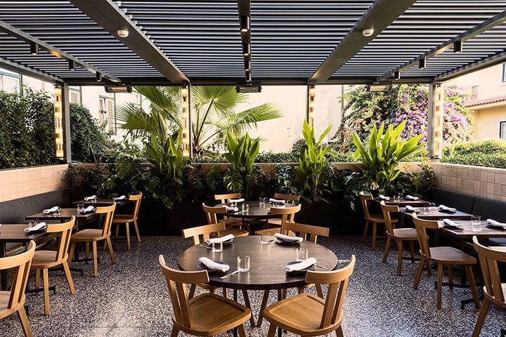 Restaurant Pesca terrace, Lisbon