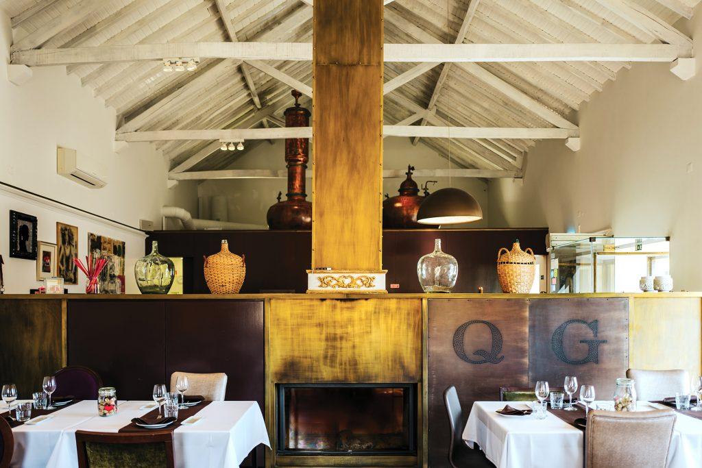 Restaurante Quinta do Gradil. Lisbon