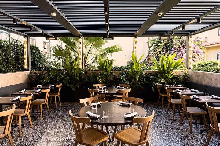 Restaurante Pesca esplanada. Lisboa