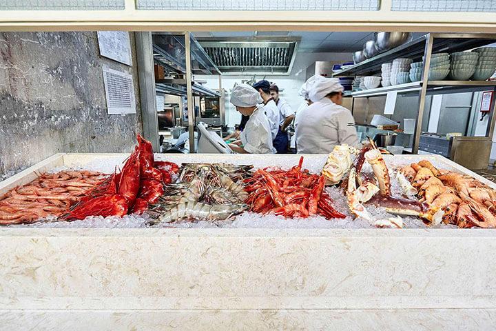 Seafood. Bairro do Avillez restaurant