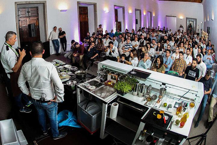 Workshop de coquetel. Lisbon Bar Show
