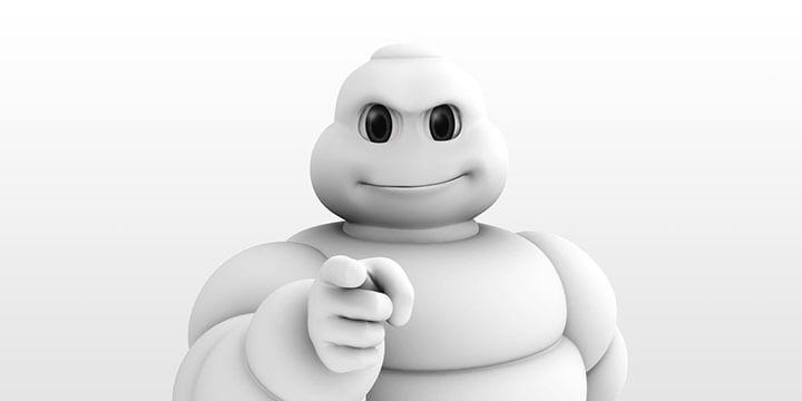 Bibendum, la mascota de la Guía Michelin