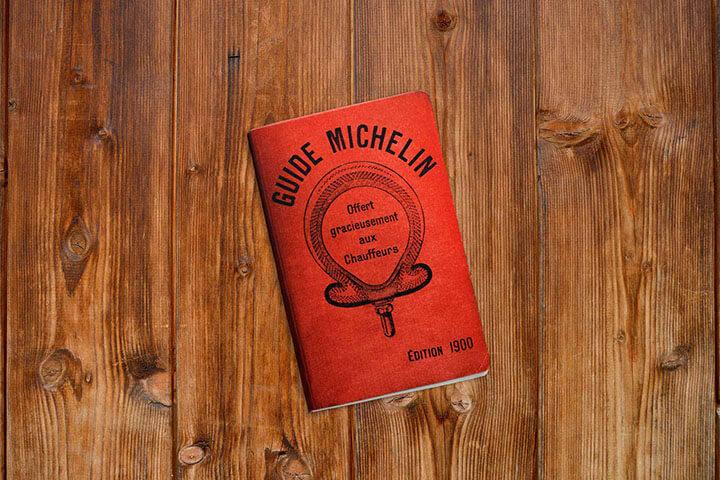 Primera edición de la Guía Michelin, año 1900