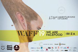 Cartel del evento gastronómico We Are FaceFood Ibiza 2019