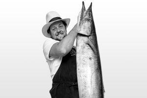 Chef João Rodrigues del restaurante Feitoria. Portugal