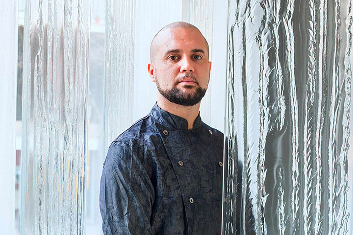 "Oliver Peña, chef ejecutivo de ""Enigma"" de Albert Adrià"