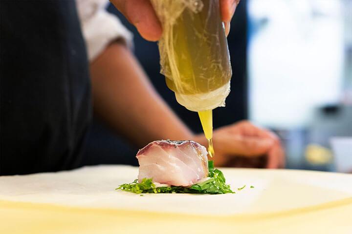 Codfish at the Feitoria Restaurante