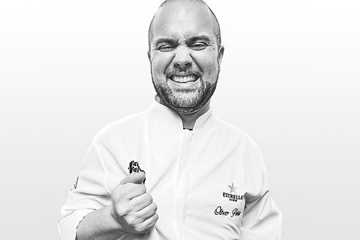 Chef Óliver Peña. Restaurante Enigma