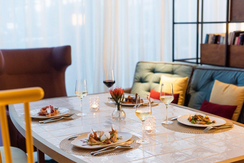 Dining room. Alabastro restaurant, Ibiza