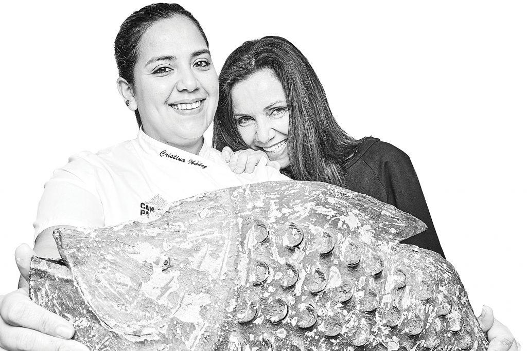 Cristina Ibáñez y Paquita Ferrer. Es Marès, Formentera