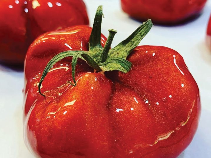 Falso tomate. Es Marès, Formentera