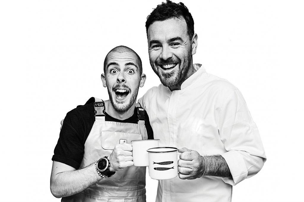 Federico Bonaccorso and Rodrigo Arrotge La PezQuería, Formentera