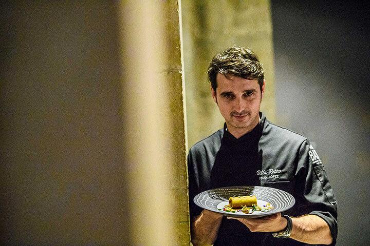 Chef Fran López. Tast a La Rambla