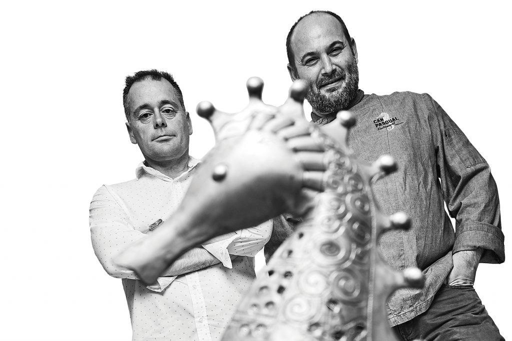 José and Juan. Can Pascual, Formentera