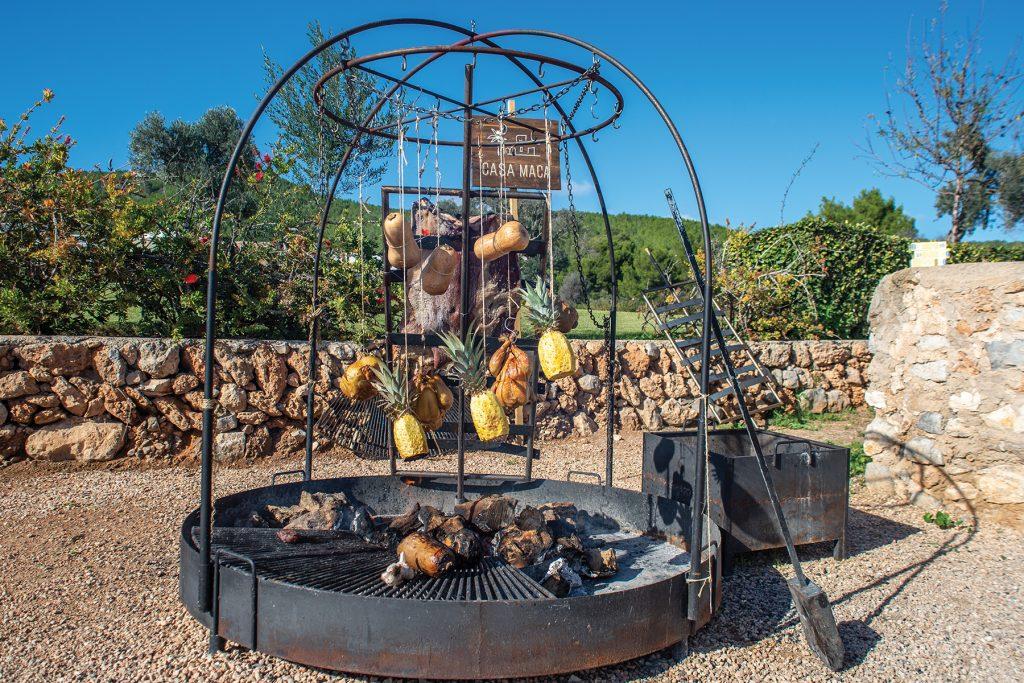 Malmann style grill. Casa Maca, Ibiza