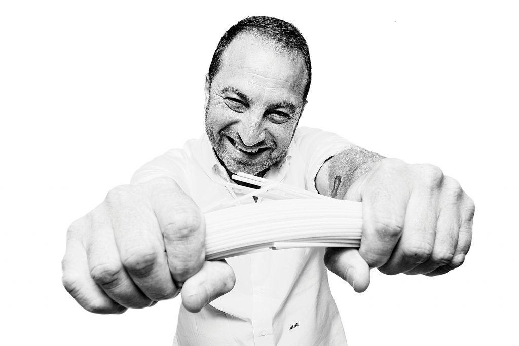 Michele, propietario del restaurante Cacio e Pepe, Formentera