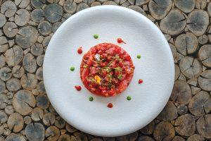Tartar de atún. Restaurante Amante Ibiza