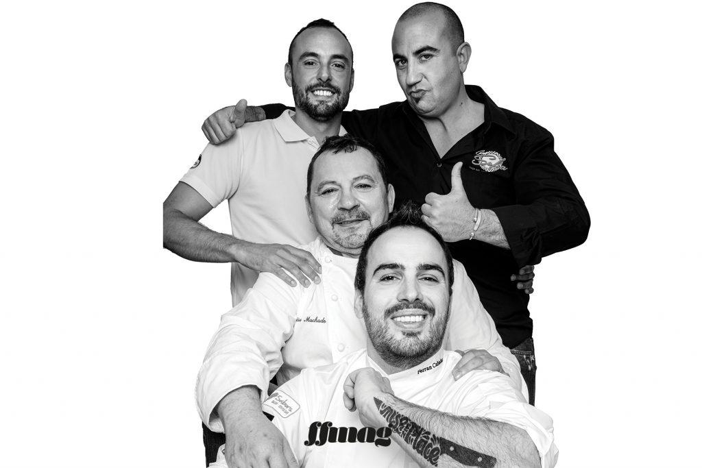 Restaurant Cana Sofía team. Ibiza