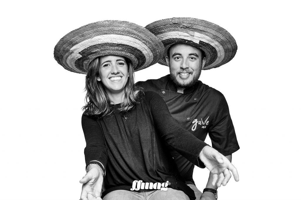 Yaiza and Rogelio. Gave Mx, Ibiza