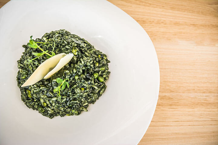 Arroz vegetariano de Chlorella