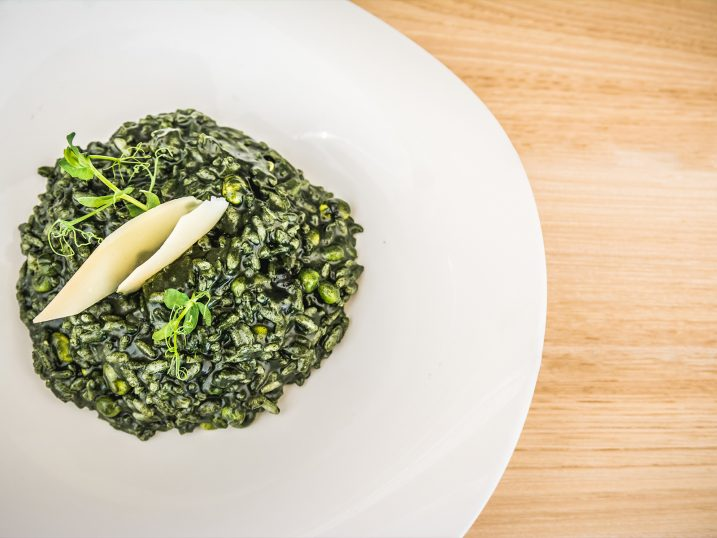 Chlorella vegetarian rice