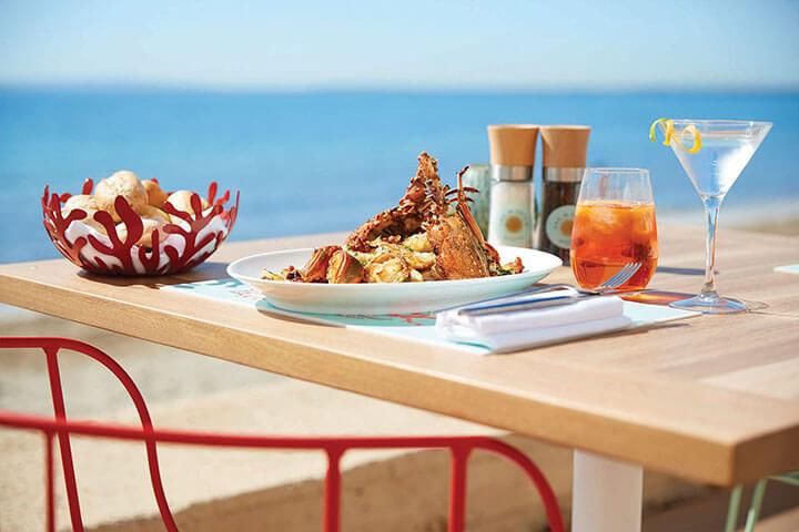 Lobster. Seahorse Ibiza