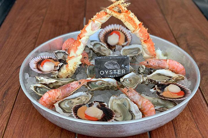Seafood. Oyster Ibiza