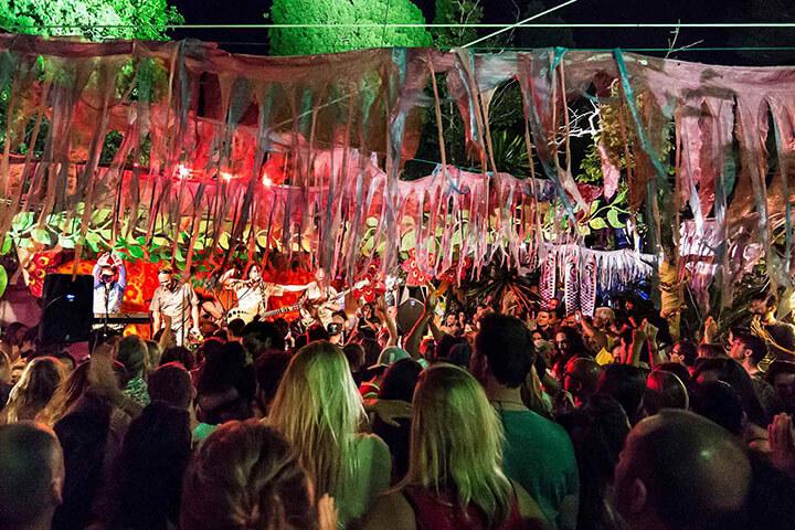 Concierto en Las Dalias, Ibiza