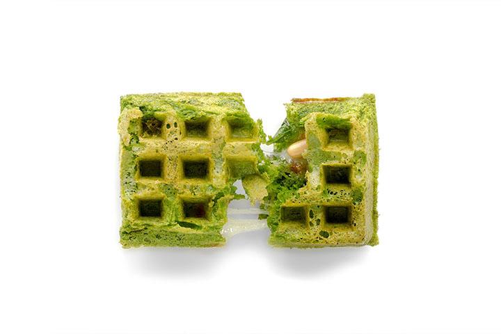 Basil waffle