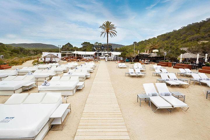 Blue MArlin Ibiza. The best Beach Clubs in Ibiza