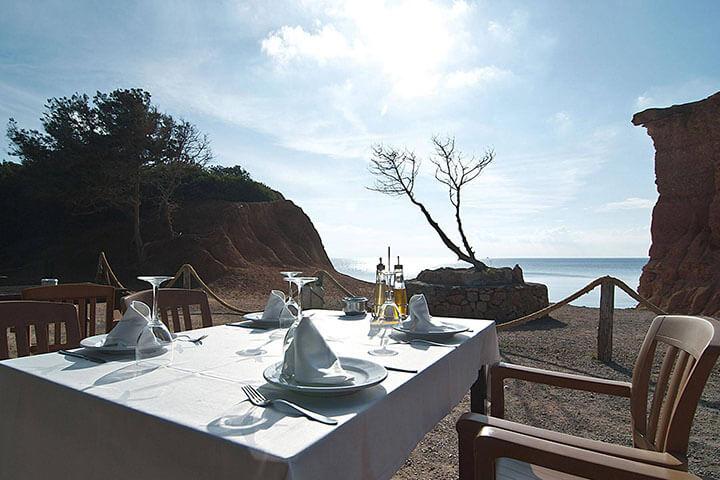 Sa Caleta. Las mejores paellas de Ibiza
