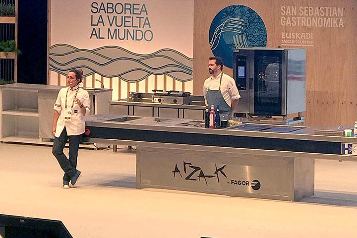 Begoña Rodrigo. Ponencia en Gastronomika 2019