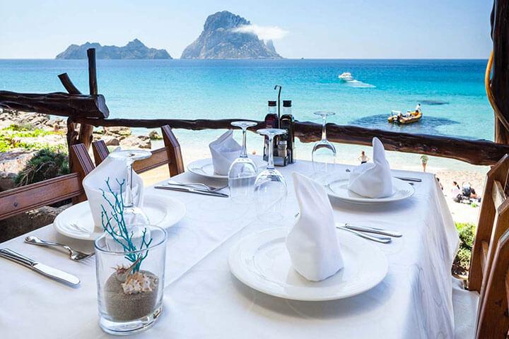 El Carmen. The best paella in Ibiza