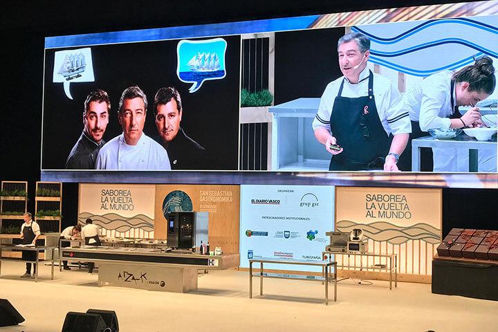 Joan Roca. Ponencia en Gastronomika 2019