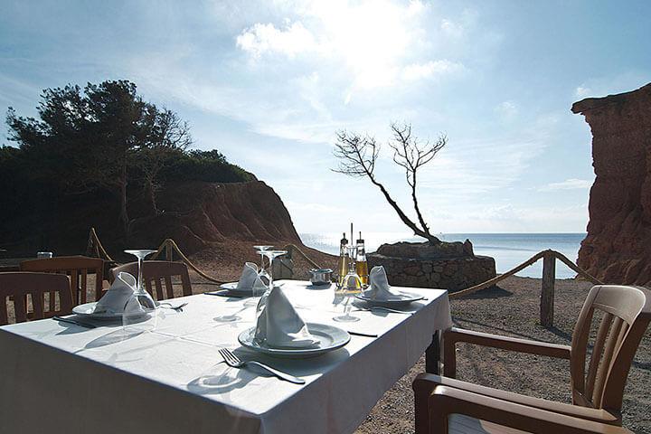 Sa Caleta. The best paella in Ibiza