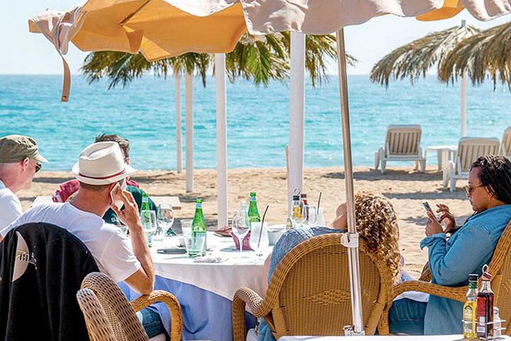 Tropicana. The best paella in Ibiza